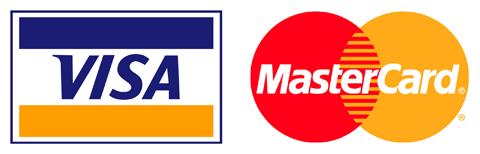 купить бокалы Visa и MasterCard